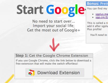 TwitterとFacebookに同時投稿 & 表示できる Google+のChromeExtension「StartGoogle+」
