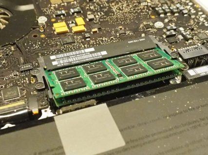 MacBookPro13 mid2010の最終形態!SSD250GB、メモリ16GBでOSはHighSierra!!