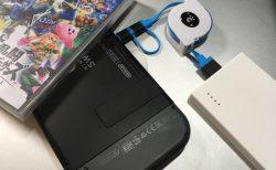 cheeroのType-Cとmicro USBの2in1ケーブルはNintendo Switchの持ち運びにいい!