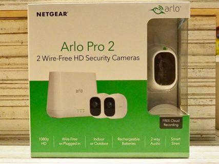初めての高性能セキュリティカメラ「Arlo Pro2」のセットアップをしてみた