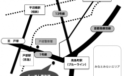 Macアプリ「Pages」で店舗案内用簡易Mapを作成してみた