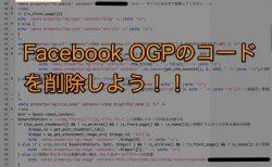 WordPressの自作テーマがなぜかローカルで表示されない問題が解決!OGPのコードを削除しよう!