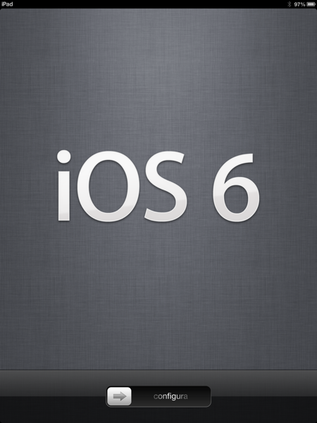 iOS6アップデート完了!とりあえず純正MAPがどんなのか知りたいのでiPadだけね