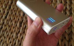 iPhoneを5回充電できるモバイルバッテリー「cheero Power Plus2」アルミボディが超クール!