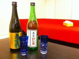 ブログ合宿に「春友さん」が持ってきてくれた「春鹿」って日本酒が美味しくてワシヅカミにされた!(@tamkai)