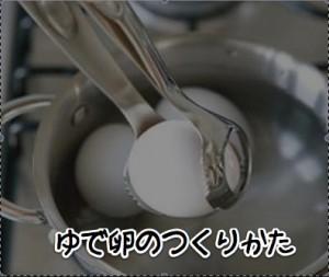 常温に戻さずに7分でできる完璧な半熟ゆで卵の作りかた!黄身のとろ~り具合がわかる動画付き!