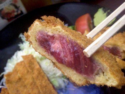 行列必至!極上のミディアムレアビフカツが食べられる新橋の「牛かつ おか田」に行ってきた!